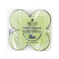 Price's Candles Maxi Tealight 4 Pack - Chefs